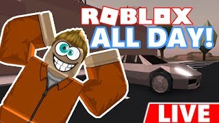 CRAZY 10 HOUR ROBLOX LIVESTREAM!!! 10 Hour - 10k Subscriber Live Stream!!