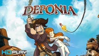 Deponia - Gameplay PC | HD