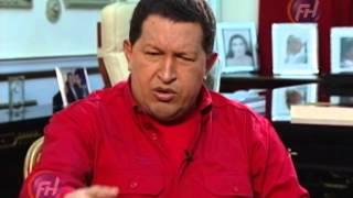 Hugo Chávez entrevistado por Elena Poniatowska 6/6