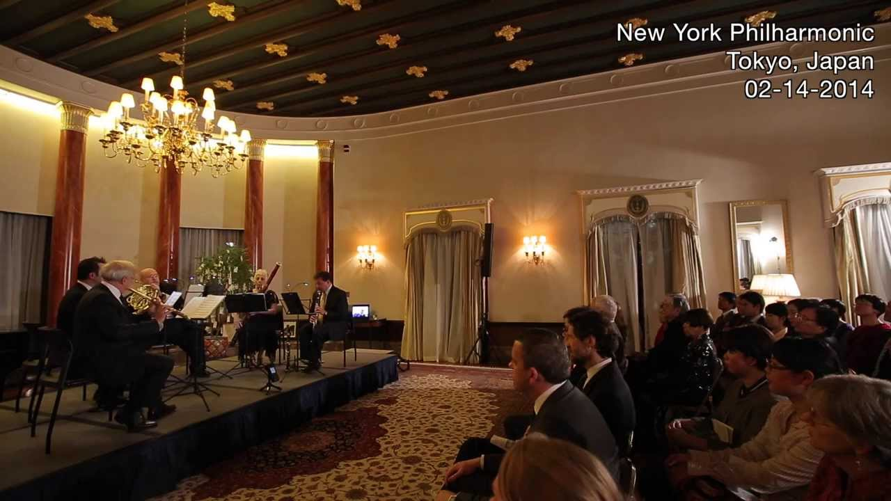 Musical Diplomacy in Tokyo, 02/14/2014