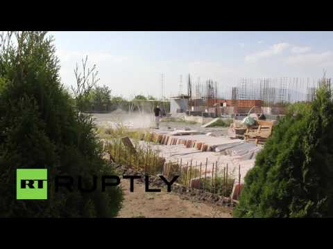 Armenia: World's largest Yazidi temple under construction