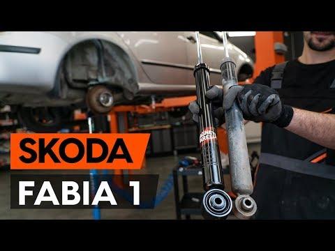 Как заменить амортизаторы задней подвески на SKODA FABIA 1 (6Y5) [ВИДЕОУРОК AUTODOC]