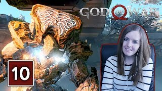 STONE ANCIENT BOSS FIGHT | God Of War PS4 Gameplay Walkthrough Part 10 (God Of War 4)