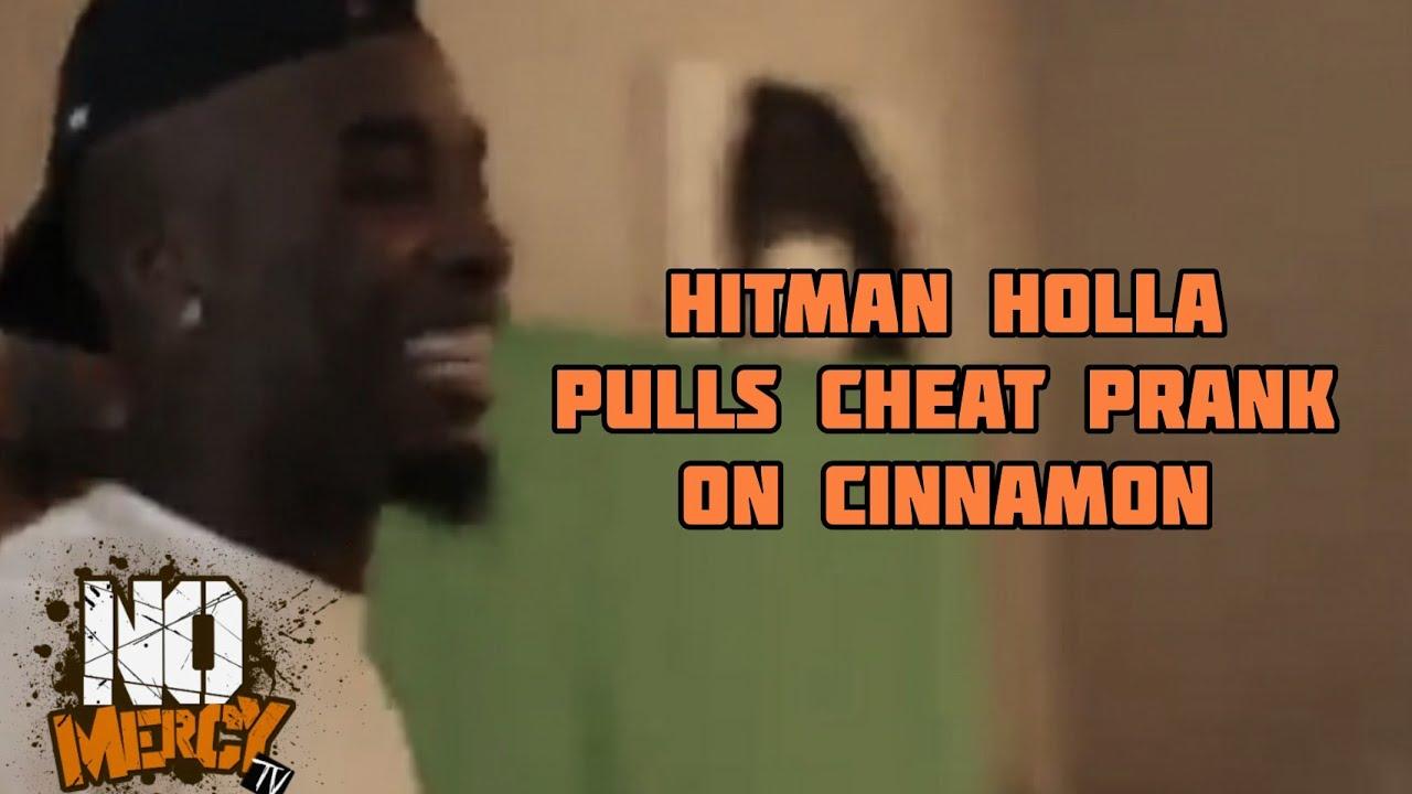 Hitman Holla Pulls Cheat Prank On Cinnamon Nomercytv Youtube