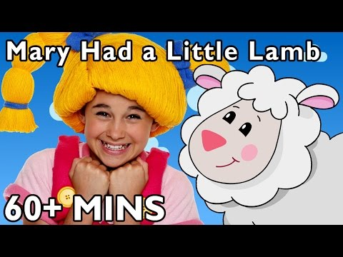 Mary Had a Little Lamb + More | Nursery Rhymes from Mother Goose Club