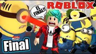 Adventures with the Minions 5 Final Battle against Mel Roblox Karim Games Play