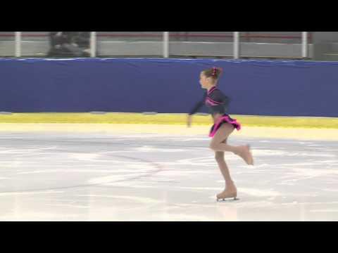Alexia Paganini figure skating regionals Juv G FS Group D-Alexis Paganini.m4v