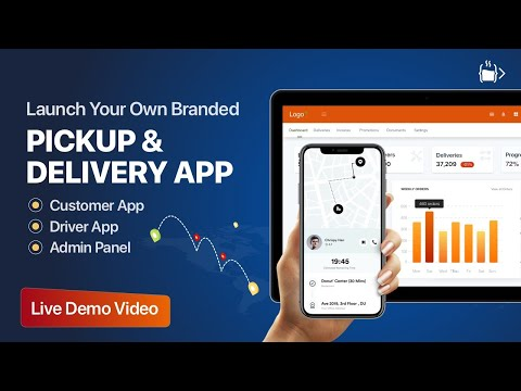 Create your own Pickup and Delivery App || Live Demo || Code Brew Labs
