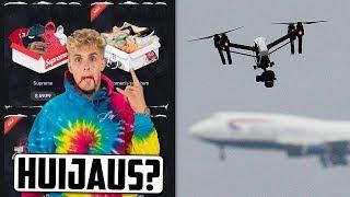 Suositut tubettajat mainostaa uhkapeliä? Lentokenttä pysähtyy dronen takia!
