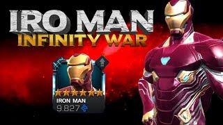6 Star IRON MAN INFINITY WAR - Adios Regeneracion, Poder, Armadura ¿Hay Algo Que No Haga?