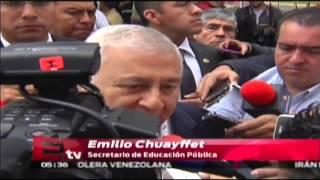Chuayffet: Se cambiarán a maestros faltistas de Oaxaca / Vienay Esquinca