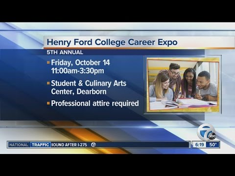 Henry Ford College Annual Career Expo set for October 14, 2016