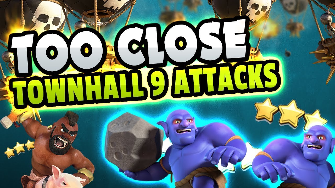these townhall 9 attacks were too close youtube