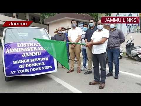 Domicile at door step service launched by Jammu administration