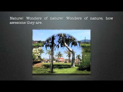 Wonders of Nature (Poem By Nia Anthony)