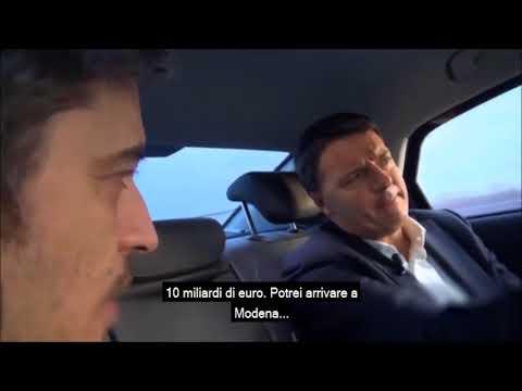 Matteo Renzi intervistato da Pif ne  Il candidato va alle elezioni