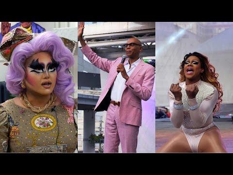 RuPaul + Drag Race Queens on Pride and Orlando (Kim Chi, Chi Chi Devayne, Bianca Del Rio)