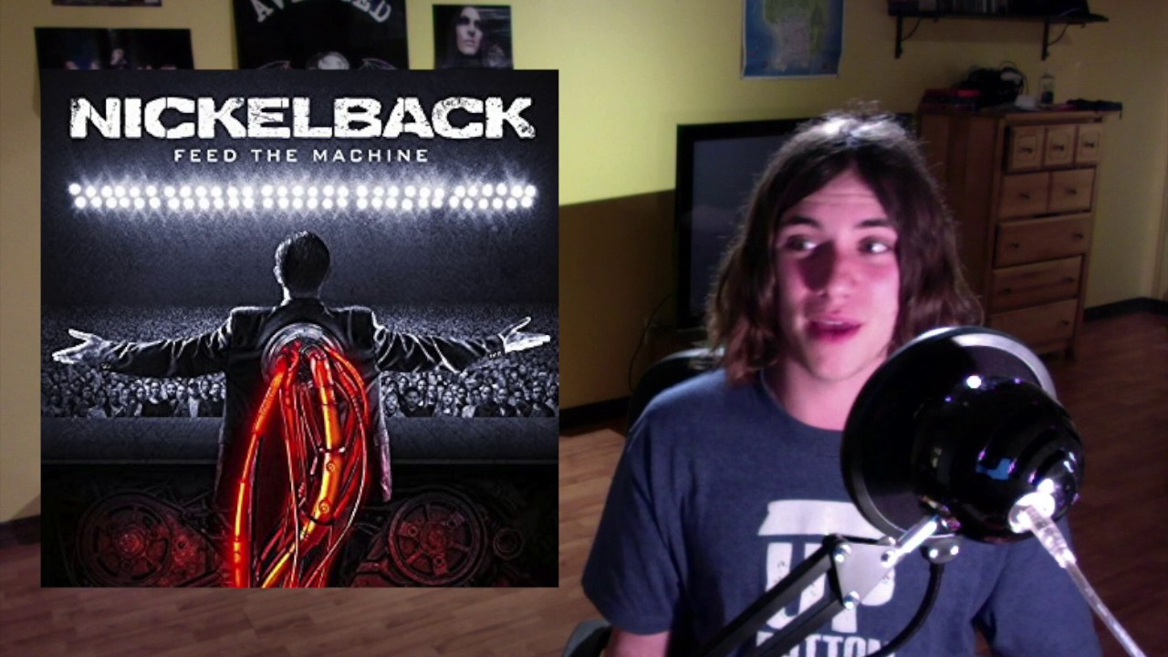 nickelback feed the machine review