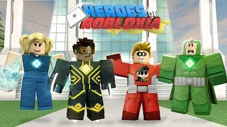 SUPERPOWERS in HEROES OF ROBLOXIA | Roblox