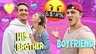 I Let My Little Brother DATE My Girlfriend For 24 Hours....