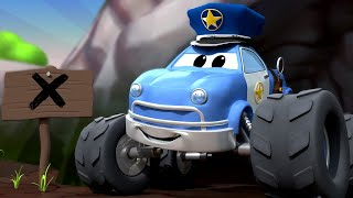 Malcom der Monster Polizist riecht etwas Leckeres!  | Maverick Monsterstadt | Car City World App