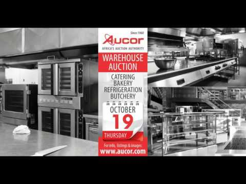Catering Equipment Warehouse Auction - 19 Oct 2017
