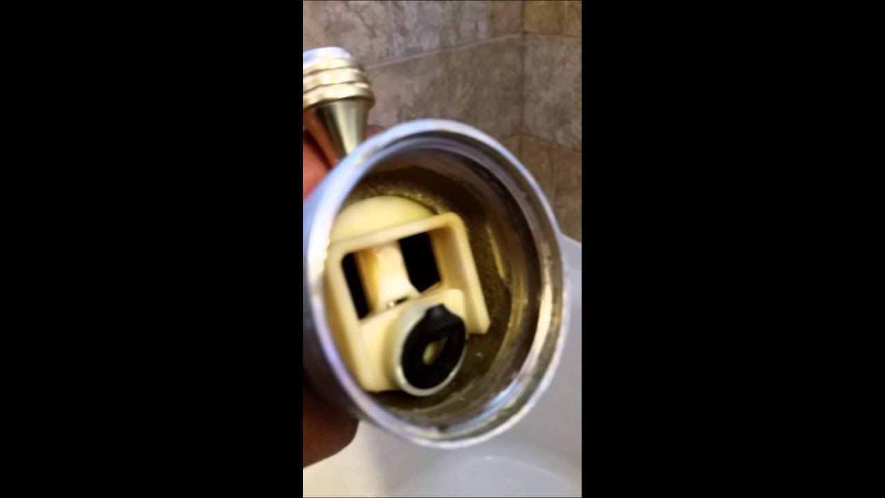 tub spout diverter repair youtube