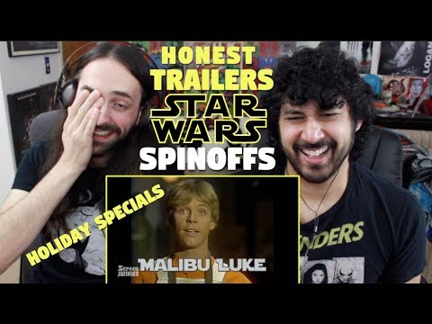 Honest Trailers - STAR WARS SPINOFFS Holiday Special & More! REACTION!!!