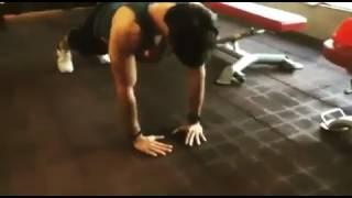 Parth Samthaan fitness freak