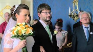 Zámek Loučeň - Svatba na zámku.