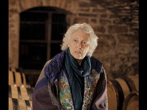Anne-Claude Leflaive accepts her 2014 Winemakers' Winemaker Award