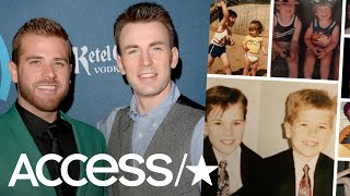 Chris Evans' Brother Shares Adorable Childhood Photos On The Marvel Actor's 37th Birthday | Access