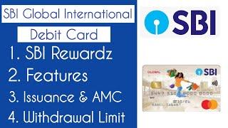SBI Global International Debit Card - best SBI debit card
