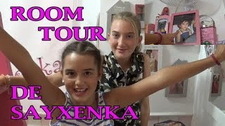 ROOM TOUR SAYXENKA con pinkys girls
