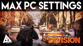 The Division Max & Ultra PC Settings Gameplay