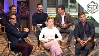 """Актёры """"Мстители: Финал"""" на """"Доброе утро, Америка"""""""