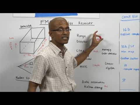 Whiteboard Wednesdays - FMCW Radar Receiver Signal Processing Using ConnX B20 DSP