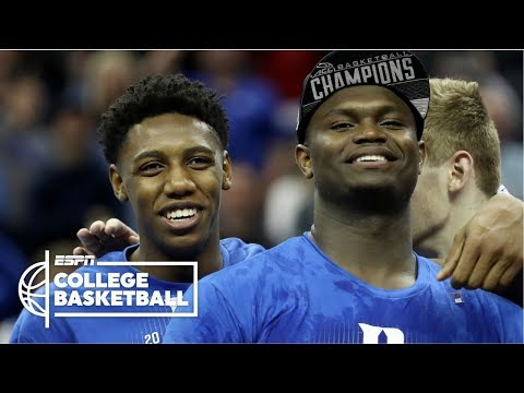 Zion Williamson, RJ Barrett lead Duke to ACC championship over FSU | College Basketball Highlights