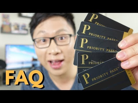 Priority Pass FAQ