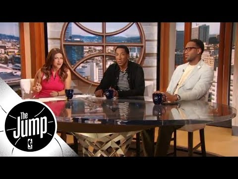 Tracy McGrady on Carmelo Anthony: Thunder should bench him for Game 6 | The Jump | ESPN