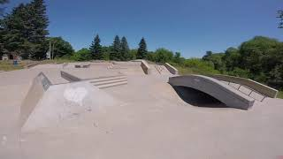 Lots of crashes and an epic rail slide