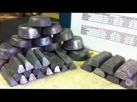Homemade Lead Shot Maker 3 - Preparing the Lead