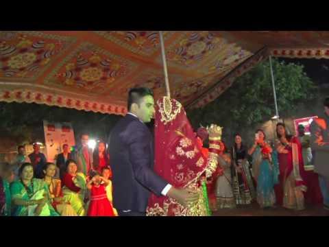 Eutai Sahara Timro Maya Ko - Nepali Reception Dance Performance by Bride and Groom