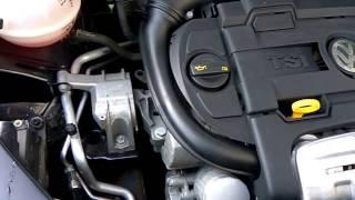 Треск в области двигателя в VW Тигуане 1,4 TSI DSG 150л.с.