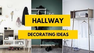 95+ Beautiful Hallway Decorating Ideas from Instagram