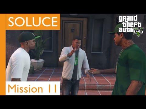 GTA 5 - Soluce Mission 11 La Route Est Longue - PS4 - YouTube
