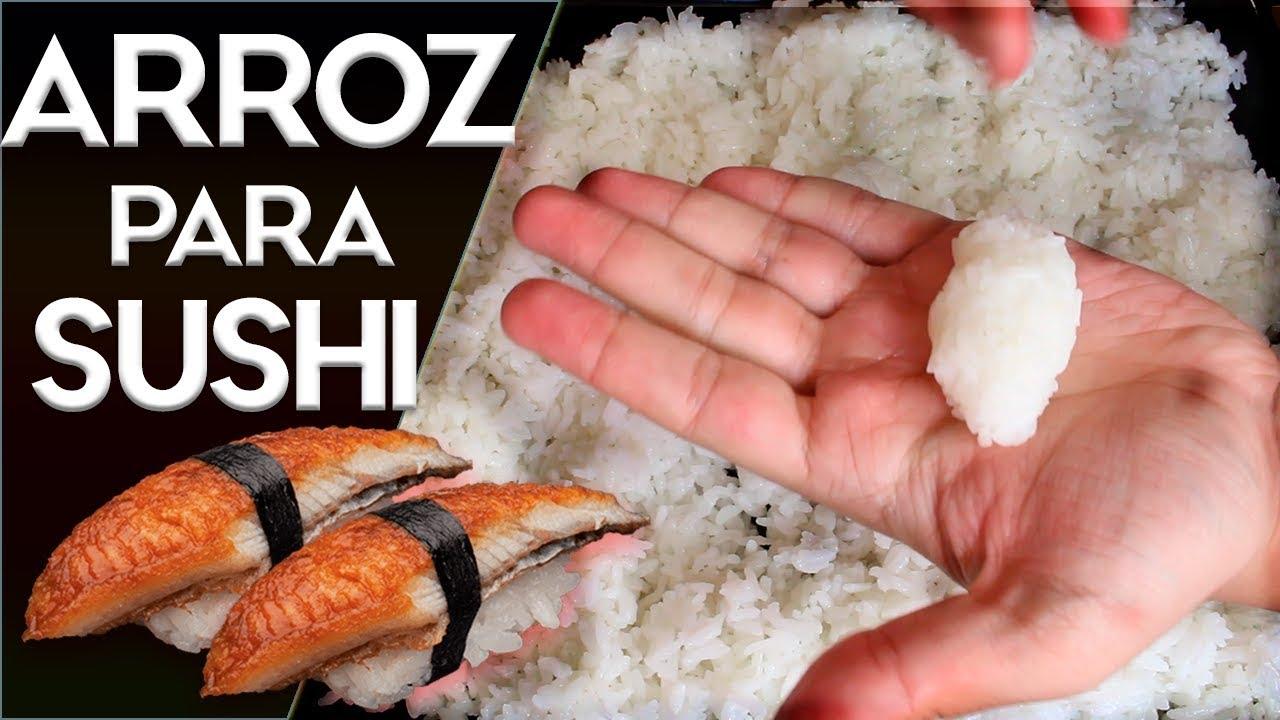 Cómo Hacer Arroz Para Sushi Facil Paso A Paso En Casa