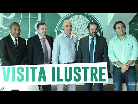 Presidente da FPF visita Centro de Excelência do Palmeiras