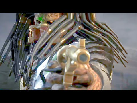 Mortal Kombat X Predator Performs All Character X-Rays