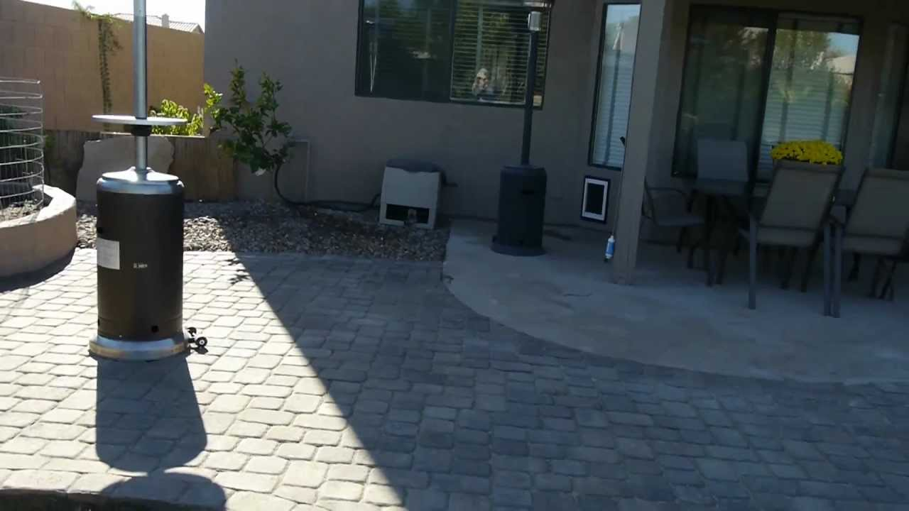 Paver Patio Extension And Walkway Youtube